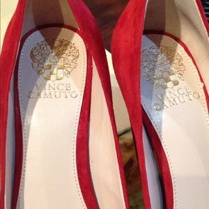 Vince Camuto Shoes - Red Velvet Vince Camino Heels
